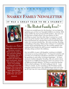"Preview of ""Fake Holiday Newsletter"""