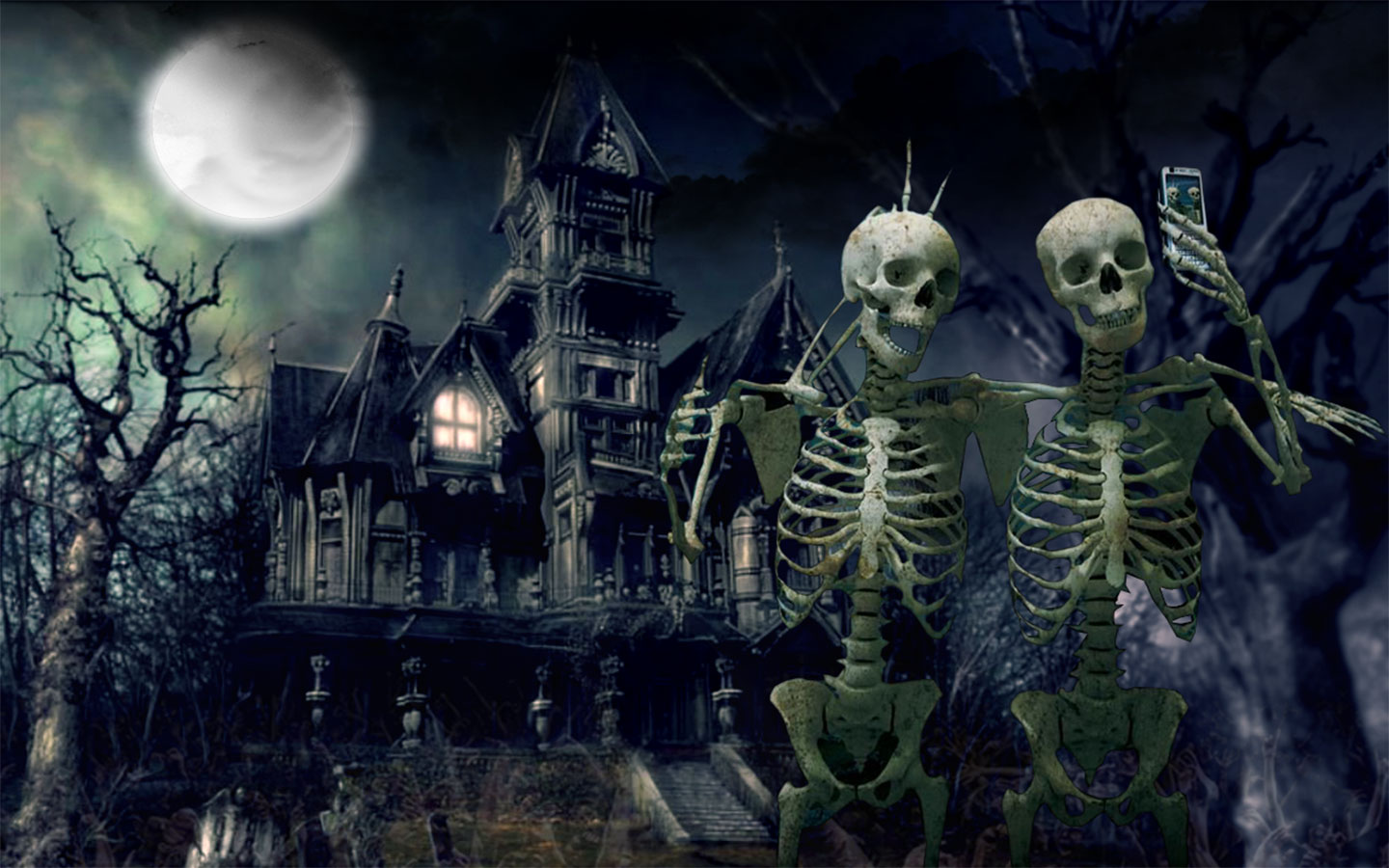 Haunted House Wallpaper 23011 Hd Wallpapers Background